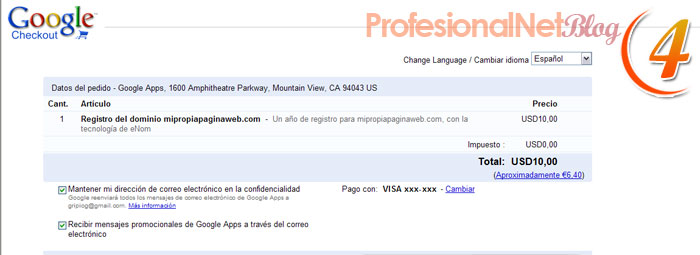 Google Sites - CuartoPaso