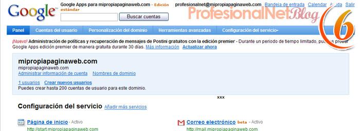 Google Sites - sextopaso