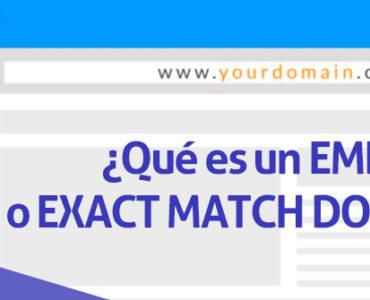 ¿Qué es un dominio EMD, dominio de coincidencia exacta y cómo puedes usar uno con seguridad?
